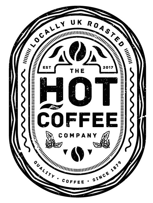 Hot Coffee Company Logo Design